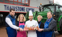 Festival bosses and top figures at a launch event for Scotland's largest one-day food festival event