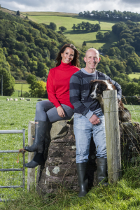 Andrea McLean and Graham Lofthouse