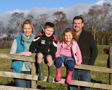 The Marchant family from Clonhie Farm