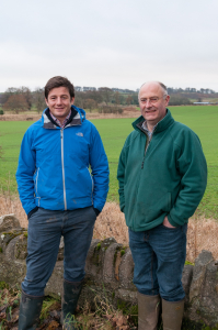 Peter Eccles and Bill Gray Lothians Monitor Farm