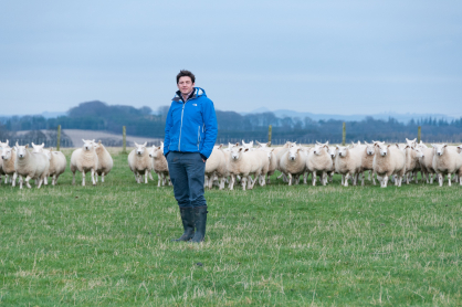 Peter Eccles from Saughland Farm